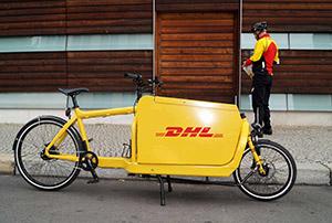 Paketlieferung per Fahrrad – DHL Start in Deutschland