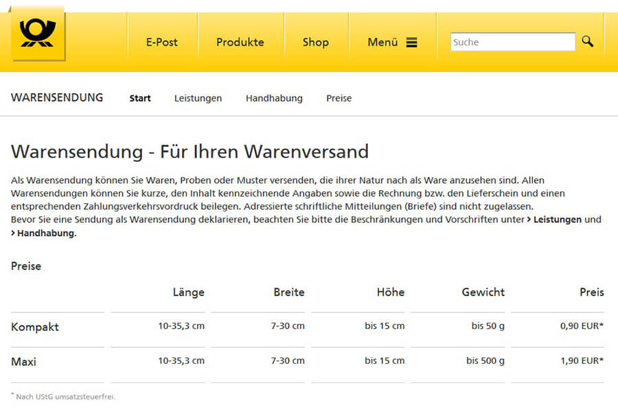 deutsche post sendeverfolgung